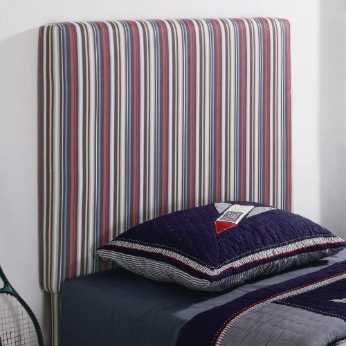 Cheap Twin Size Kid Headboard with Striped Fabric in Multi Finish (VF_460300)