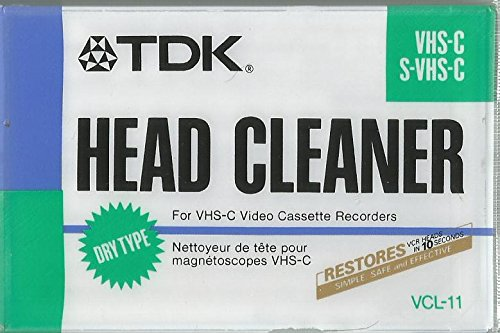 Tdk Video Head Cleaner for Vhs-c Video Cassette Recorders (Tdk Head compare prices)