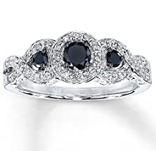 buy Trilogy 1 Carat Sapphire And Diamond Halo Engagement Ring In White Gold