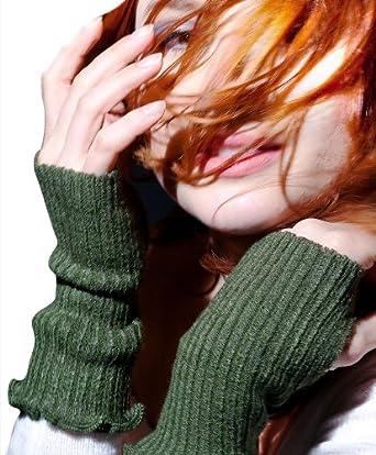Denim Six Inch #FBloggerable #Fingerless Hand Warmers @KDdanceNewYork w/ Ruffled Top & #ThumbHole, #Office Chic #MadeInUSA