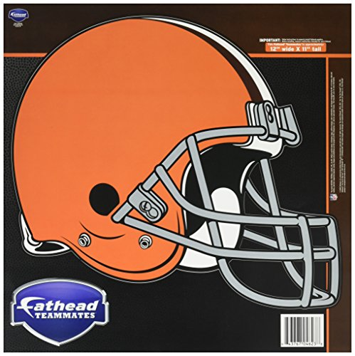 NFL Cleveland Browns Logo Fathead Wall Decal, 15 x 12-inches (Cleveland Browns Auto Decal compare prices)