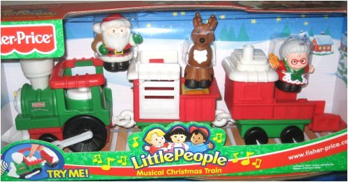 Little People Musical Christmas Train - 1