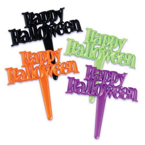 Happy Halloween Cupcake Picks