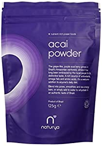 Naturya Organic  Acai Powder 125 g Nutritional Power Food Pouch