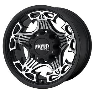 Moto Metal Skull MO909 Gloss Black Wheel with Machined Face (20×9″/5×5″)
