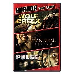 Horror Triple Feature (Wolf Creek, Pulse, Hannibal Rising)