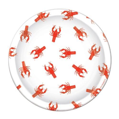 Crawfish Plates   (8/Pkg)