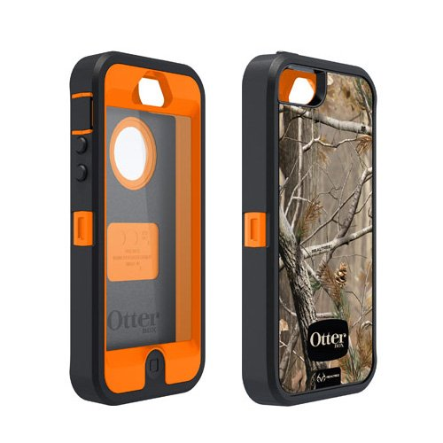 【正規代理店品】OtterBox+Defender+for+iPhone+5+Realtreeカモフラージュシリーズ+AP+Blazed+OTB-PH-000012
