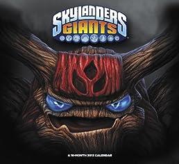 Skylanders Giants 2013 Calendar