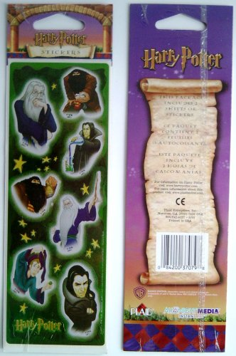 Harry Potter Sorcerer's Stone Stickers - Professors - 1