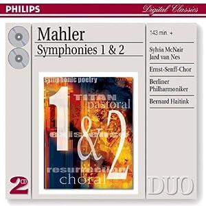 Mahler: Symphonies Nos.1 & 2
