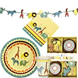 Large Meri Meri Animal Parade Party Kit
