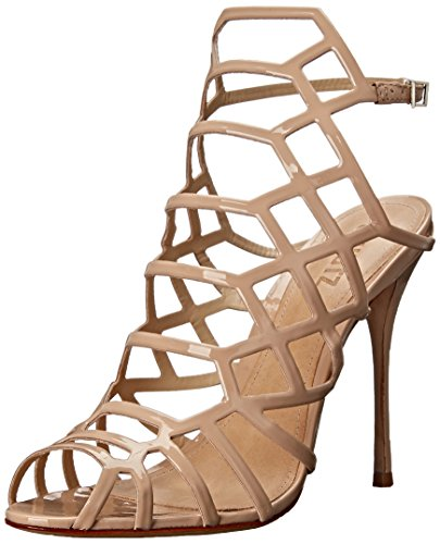 Schutz Women's Juliana Dress Sandal, Tanino, 8 M US