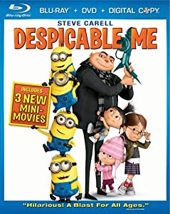 Despicable Me Three-disc Blu-raydvd Combo by Universal Studios