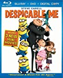 51qT20k%2BOpL. SL160  Despicable Me (Three Disc Blu ray/DVD Combo + Digital Copy)