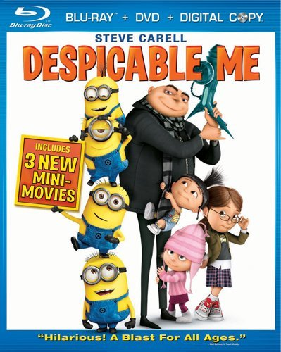 Despicable Me (Three-Disc Blu-ray/DVD Combo + Digital Copy)