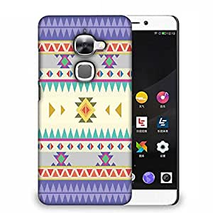 Snoogg Aztec Pattern Purple Designer Protective Back Case Cover For Samsung Galaxy J1