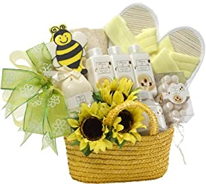 Art of Appreciation Gift Baskets   Queen Bee Spa Bath and Body Set