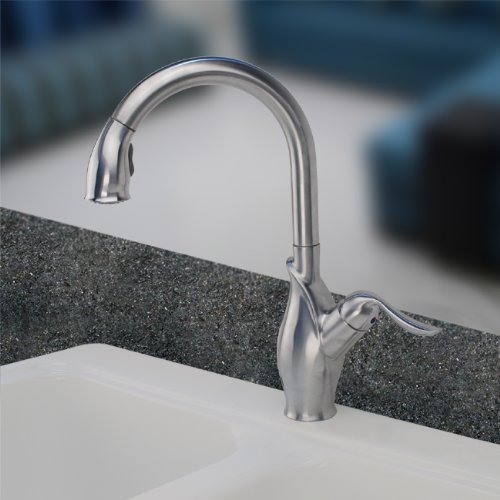 Install Pull Out Kitchen Faucet