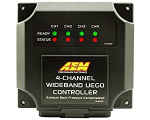 AEM 4 Channel Wideband UEGO Controller - For use with Nascar McLaren ECU via CAN 30-2340-N