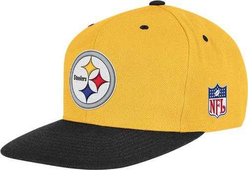 Pittsburgh Steelers Mitchell & Ness Gold Throwback Vintage Snap back Hat