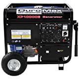 51qT9qZaf1L. SL160  DuroMax XP10000E 10,000 Watt 16 HP OHV 4 Cycle Gas Powered Portable Generator With Wheel Kit And Electric Start
