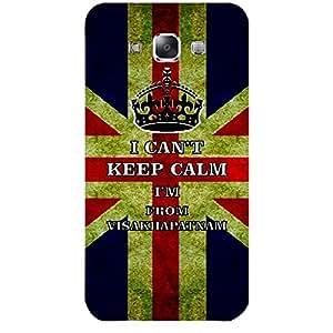 Skin4gadgets I CAN'T KEEP CALM I'm FROM Visakhapatnam - Colour - UK Flag Phone Skin for SAMSUNG GALAXY E7 (E7000)