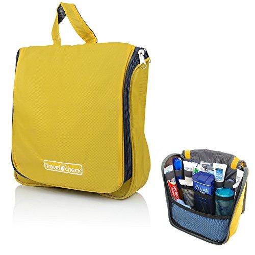 70b03b33fa SZTARA Travel Toiletry Bag Organizer   Hanging Portable Travel Bags   Household  Storage Pack   Bathroom Makeup or Shaving Kit ...