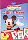 Mickey Mouse Clubhouse Colors and Shapes Learning Game Cards