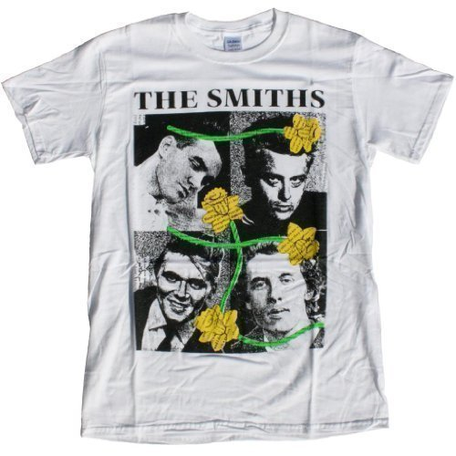 The Smiths Unisex T-shirt: Morrissey, Dean, Fury. (S)