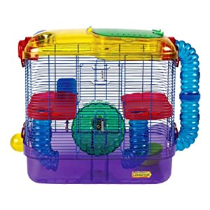 Amazon.com : Kaytee Critter Trail 2-Level Habitat : Pet Cages : Pet Supplies
