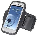 Amazon.co.jpアームバンド,SODIAL(R)黒いスポーツアームバンドケースポーチ Samsung Galaxy S3 III i9300 アンドロイドジムランニングジョギング