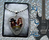 Metallica Cliff Burton Metal Guitar Pick Necklace Boxed