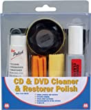 CD DVD CLEANER PROTECTOR RESTORER POLISH 6 PIECE KIT