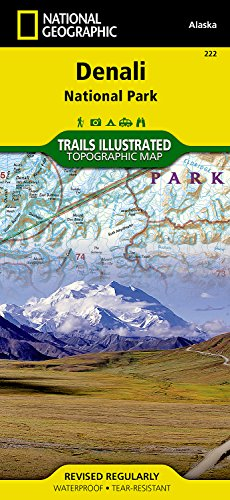 **Denali National Park & Reserve (National Geographic Trails Illustrated Map)