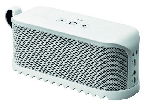 Jabra SoleMate Portable Bluetooth Speaker - White Black Friday & Cyber Monday 2014