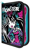 Monster High Stationery Character Filled Pencil Case