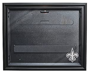 New Orleans Saints Removable Face Jersey Display, Black by Caseworks