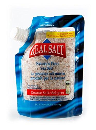 One 16-Ounce Real Salt Coarse Sea Salt Pouch (Sea Salt Real Food compare prices)