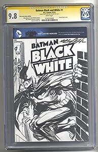 Batman Gotham drawn on a Blank Batman #0 CGC 9.8