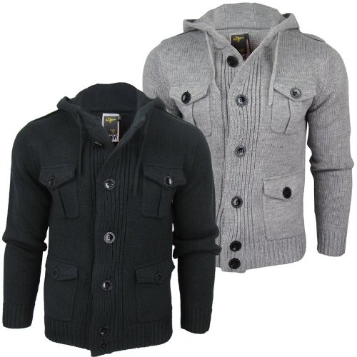 Le Breve Mens 'Jewel' Heavy Weight 4 Pocket Jumper/ Cardigan