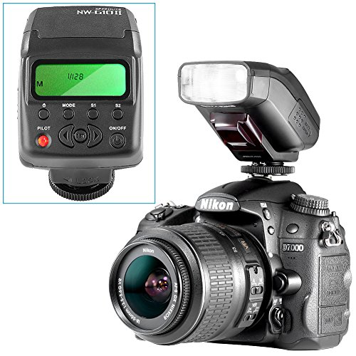 Neewer-NW-610II-Mini-LCD-Display-On-camera-Flash-Speedlite-for-Canon-Nikon-Olympus-Sony-A7-A7SA7SII-A7RA7RII-A7II-A6000-A6300-and-Other-DSLR-Cameras