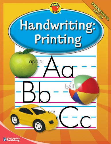 Handwriting: Printing, Grades PK - 2 (Brighter 