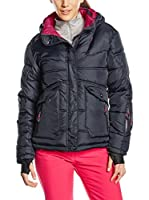 Peak Mountain Chaqueta Guateada Anecy (Negro)