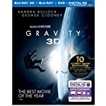 [US] Gravity (2013) [Blu-ray 3D + DVD + UltraViolet]