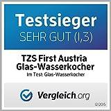 2200-Watt-Glas-Edelstahl-Wasserkocher-17-Liter-blaue-Led-Beleuchtung-360-Grad-kabellos-Kalkfilter-Bpa-Frei-Schwarz