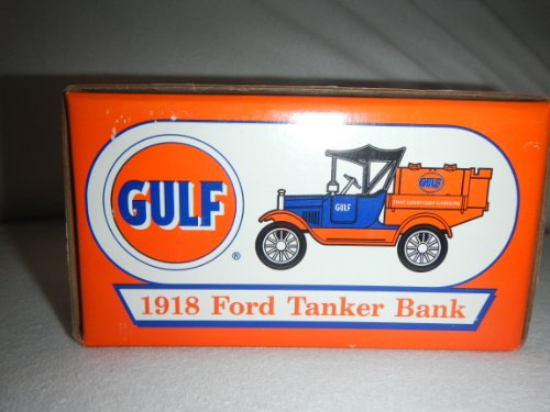 Ertl Gulf 1918 Ford Tanker bank