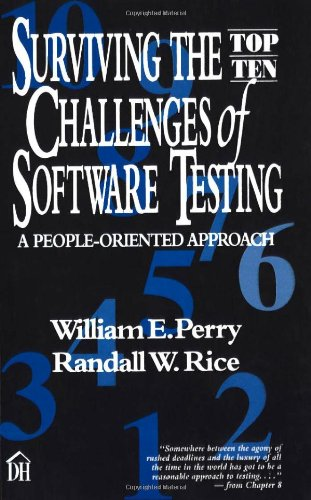 Surviving the Top Ten Challenges of Software Testing: A People-Oriented Approach (Tops Software compare prices)