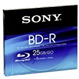 SONY BD-R Blu-ray (25GB) write once disc