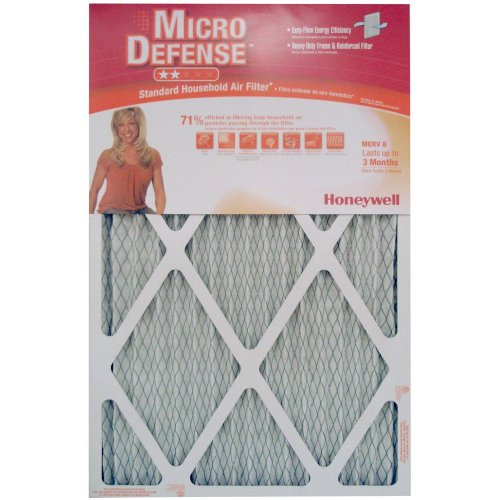 Honeywell CF108A1625/A Standard Air Cleaning Filter, 16 x 25 x 1-Inch (Honeywell Air Filters 16 25 1 compare prices)